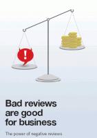 Negatieve beoordelingen zijn goed voor je!